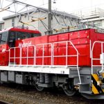 JR Freight's First Mass-produced Hybrid Locomotive with GS Yuasa's Industrial-use Lithium-ion Battery